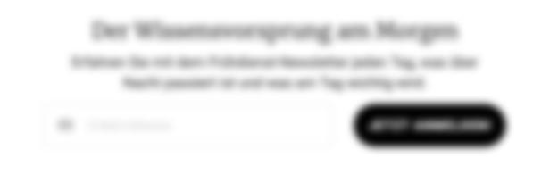 eine Newsletter Anmeldung Platzhalter.